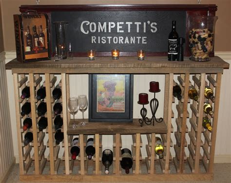 how to make a wine rack in a cabinet building a classic wine rack from pallets and reclaimed
