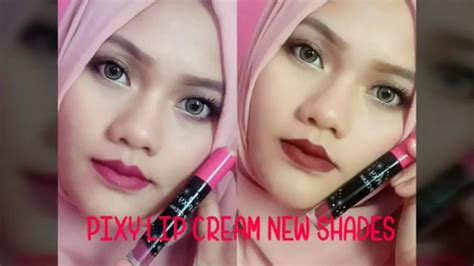 Pixy Lipcream new shades pixy lip swatches and review