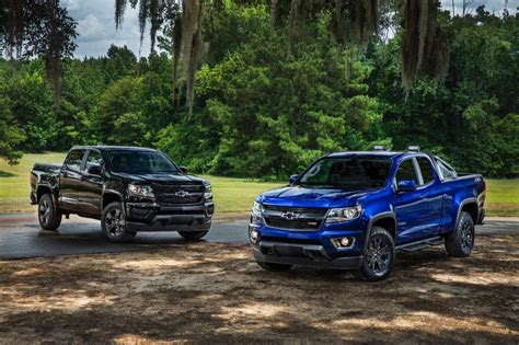 chevy colorado midnight edition 2016 chevy colorado z71 trail boss features gm authority