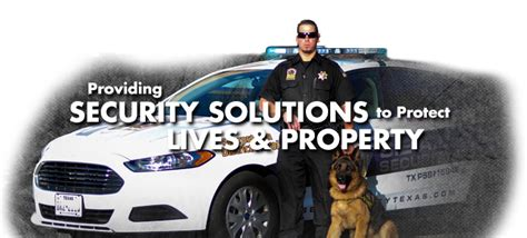 Security Officer Tx Security Guard Services Security Officer