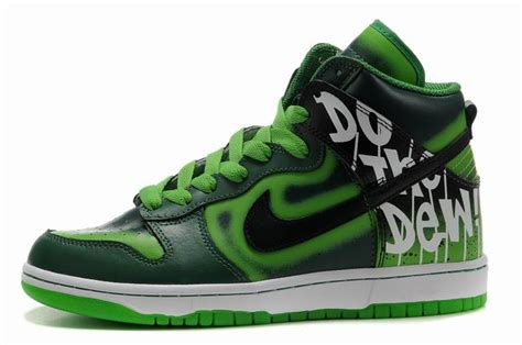 Fnd Labels Greeny find green label event nike dunk high do the dew shoes low prices buy real cheap nike