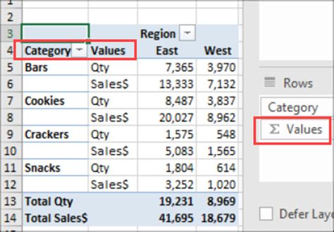 change layout of excel pivot table quickly change pivot table layout excel pivot