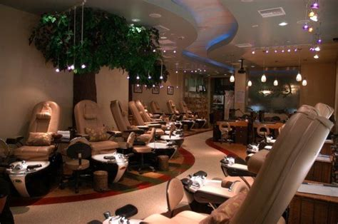 best nail salon interior design nestled amongst the
