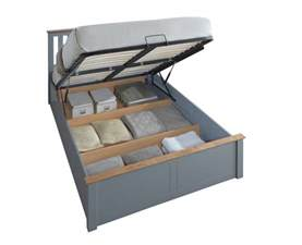 Ottoman With Storage Space Happy Beds Ottoman Storage Bed Wooden Modern Space