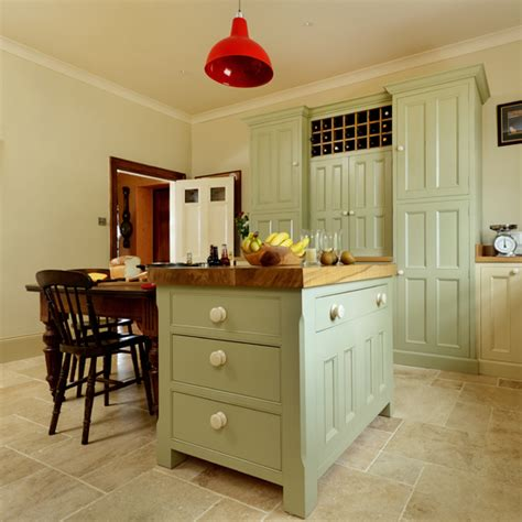 portland stone small kitchen island unit country kitchen painted island unit ideal home