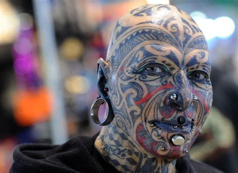 extreme tattoo website top 5 world s strangest tattoos sick tattoos blog and