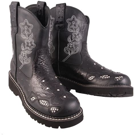 s boots s roper 174 bling bling chunks boots 112504 cowboy