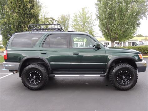 toyota 4runner lifted 1999 toyota 4runner sr5 4x4 3 4l 6cyl lifted lifted