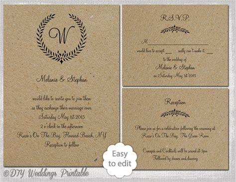free printable wedding invitation monogram free monogram wedding invitation templates cobypic com