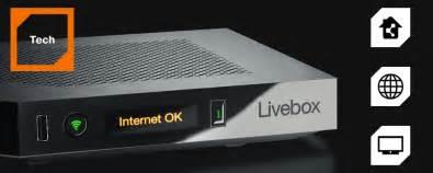box livebox play adsl fibre optique orange