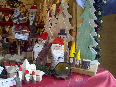 unique locally made wooden christmas decorations at the