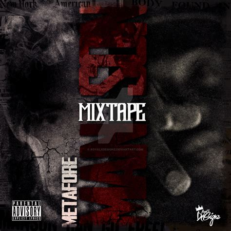 Therealmetafore Mixtape Cover Template Psd L By Royalxdesignz On Deviantart Mixtape Cover Template Psd