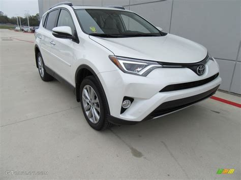 2017 blizzard pearl white toyota rav4 limited 117550540 photo 4 gtcarlot car color
