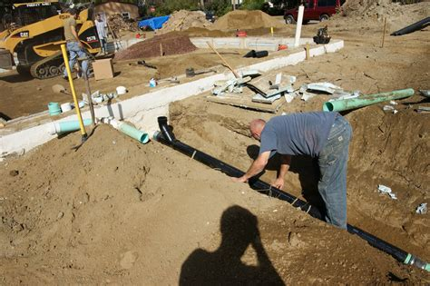 Adding Plumbing To Slab Foundation by Sub Slab Plumbing And Backfilling Done Design