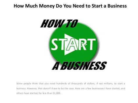 how much money do i need for a wedding how much money do you need to start business