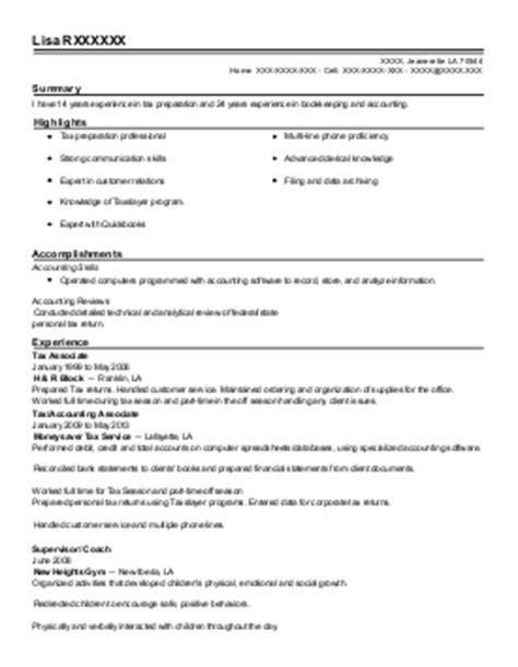 senior tax associate resume exle kpmg llp springfield new jersey