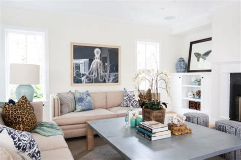 Where To Throw Furniture Vancouver - contemporary coastal living room with bright white walls