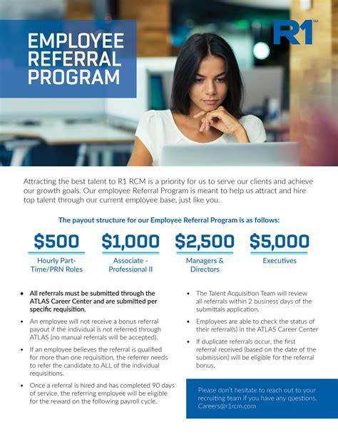 Employee Referral Program Flyer