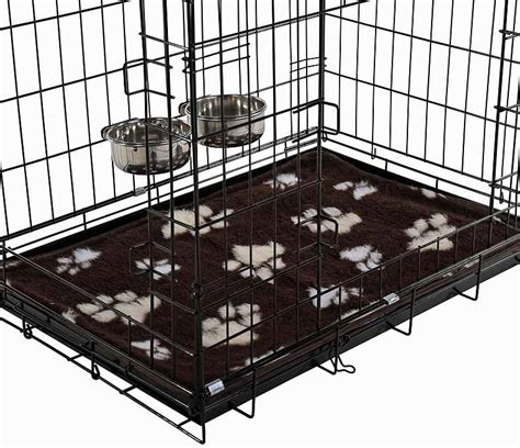 bed cage dog crate bed dog bed made out of a recycled wine box