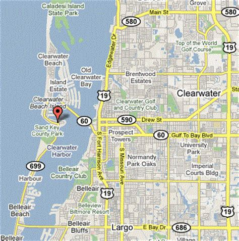 map of clearwater florida clearwater florida location and climate information