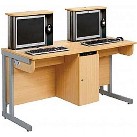 School Computer Desk Secure Ict Computer Desk School Ict Desks