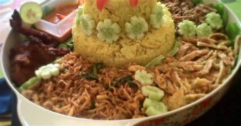 buat nasi kuning rice cooker resep nasi kuning komplit versi rice cooker oleh elischa
