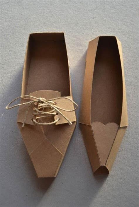 Make Paper Shoes - 17 best ideas about paper shoes on box