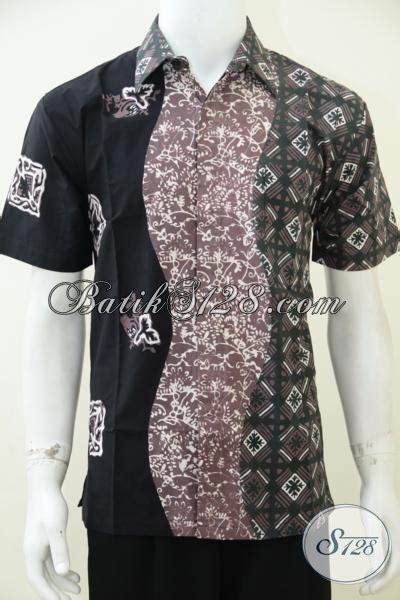 Jaket Pria Kombinasi Jaket Gaul jual busana batik pria masa kini dengan kombinasi 3 warna