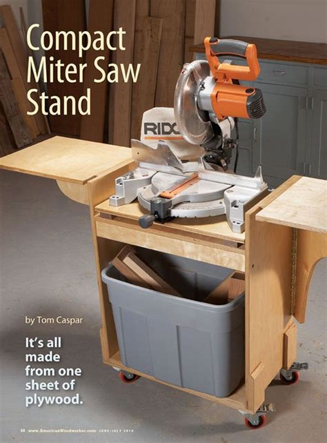 mitre  stand plans  woodworking projects plans