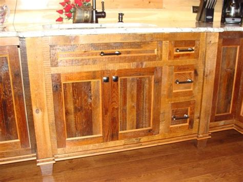 Reclaimed Wood Cabinets For Kitchen Reclaimed Barnwood Kitchen Cabinets Traditional Kitchen Minneapolis By Vienna Woodworks