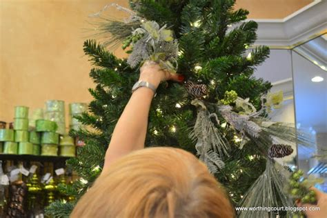 christmas tree fillers how to step by step designer s tree decorating
