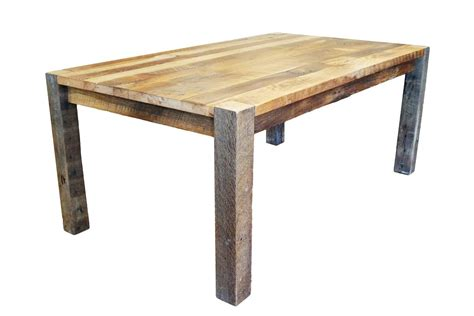 Reclaimed Wood Table by Timber Ridge Reclaimed Barn Wood Dining Table