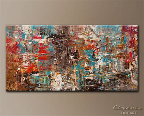 Turquoise And Orange Home Decor by Large Paintings For Sale Oversized Abstract Art Paintings Extra Large Wall Art Canvas Decor
