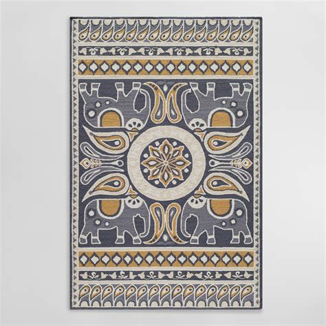 Outdoor Mats Rugs Gray Lanka Indoor Outdoor Area Rug World Market