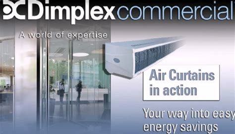 air curtains ireland commercial heating systems glen dimplex ireland
