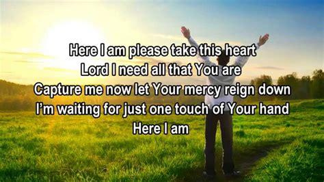christian new year songs lyrics here i am tamela mann christian worship gospel song