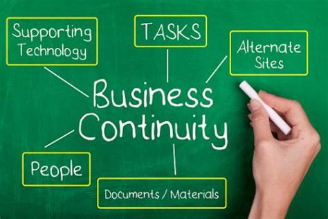 business continutity and disaster recovery planning
