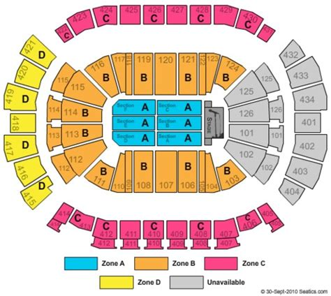 Toyota Center Seating Chart Concert Toyota Center Tickets In Houston Toyota Center