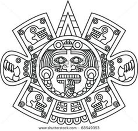 calendario azteca para colorear 1000 images about mexican suns on pinterest aztec sun