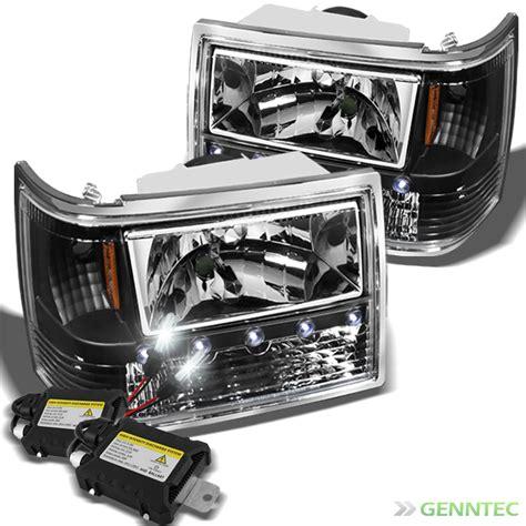 Led Headlights Jeep Grand For 8000k Slim Xenon Hid Kit 93 98 Jeep Grand Led
