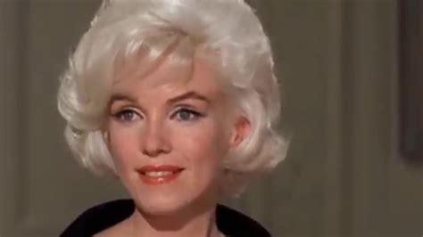 marilyn monroe in color marilyn monroe only sweet valentine her last movie