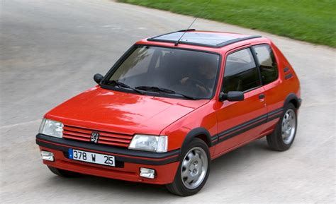 peugeot 205 weight peugeot 205 ii 20a c 1 6 gti 113 hp