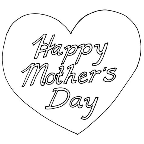 happy mothers day coloring page drawing of s day coloring child coloring