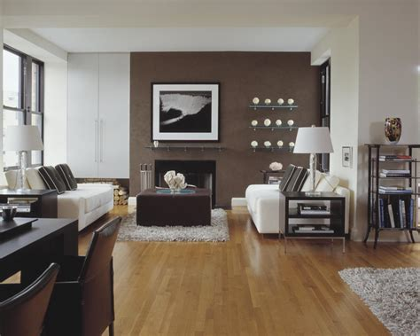 brown walls in living room madison interior designer designshuffle blog