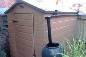 how the rainsaver fits any size shed s rainsaver