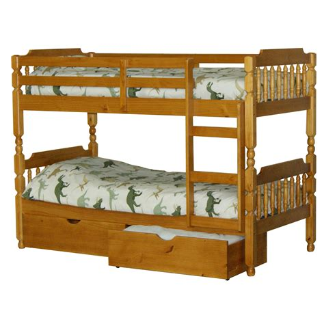 bunk bed spindle bunk bed up to 60 rrp next day select day delivery