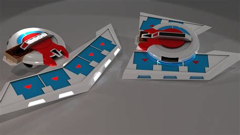 Yugioh Duel Disk Papercraft - papercraft shaymin images images