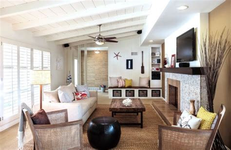 Nautical Style Living Room by Nautical Decor Ideas From Ship Wheels To Starfish