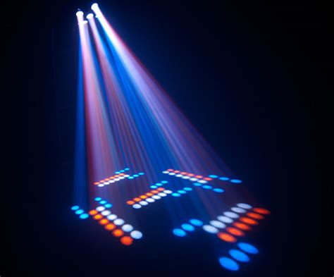 Colored Led Lights by Chauvet Professional Circus Led Multi Colored Effect Beams