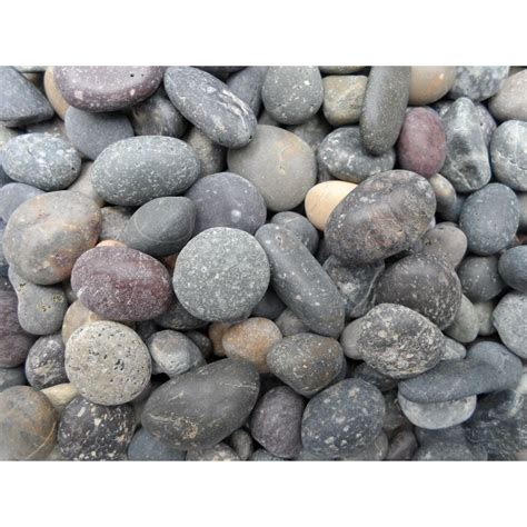 home depot decorative stone vigoro decorative stone 0 5 cu ft mexican beach pebbles
